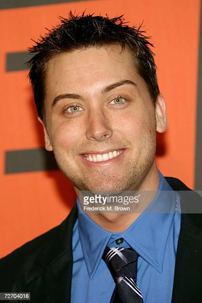 Singer Lance Bass arrives to the VH1 Big in '06 Awards held at Sony Studios on December 2 2006 in Culver City California