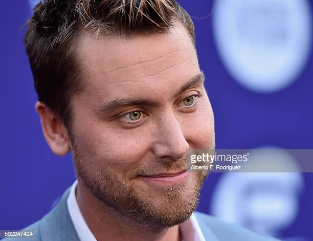 Singer Lance Bass attend a cocktail reception Benefit for onePULSE Foundation at NeueHouse Hollywood on August 19 2016 in Los Angeles California