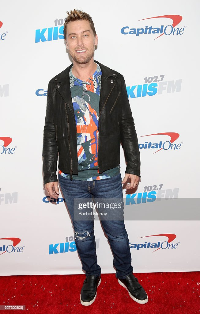 Singer Lance Bass attends 102.7 KIIS FM's Jingle Ball 2016 presented by Capital One at Staples Center on December 2, 2016 in Los Angeles, California.