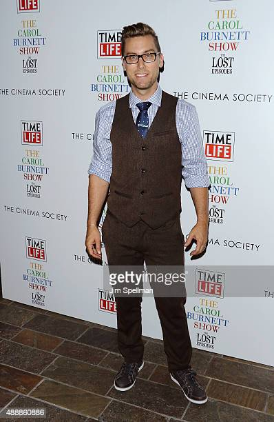"""Singer Lance Bass attends """"The Carol Burnett Show: The Lost Episodes"""" screening hosted by Time Life and The Cinema Society at Tribeca Grand Hotel on..."""