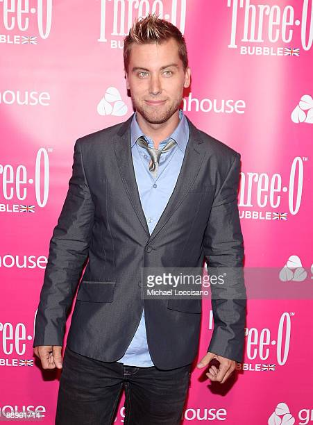 Singer Lance Bass attends the ThreeO Vodka Bubble launch at Greenhouse on July 9 2009 in New York City