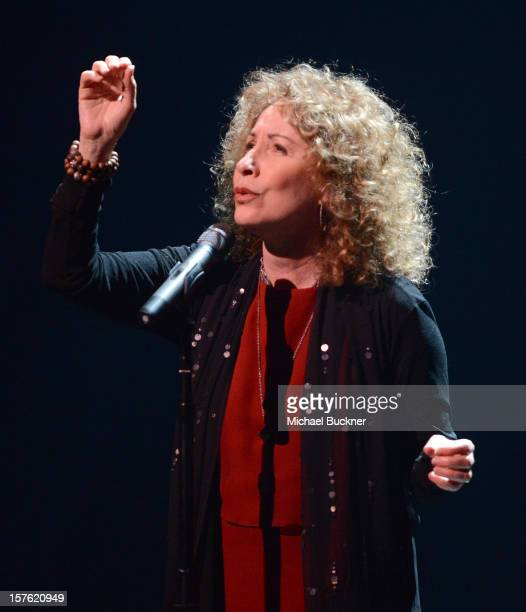 Singer Lani Hall attends a celebration of Carole King and her music to benefit Paul Newman's The Painted Turtle Camp at the Dolby Theatre on December...