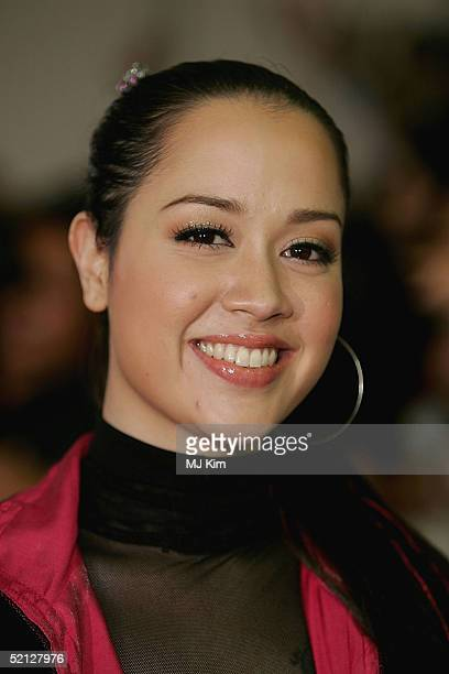 """Singer Lanna Commins from Thai arrives at """"MTV Asia Aid"""" at the IMPACT Arena on February 3, 2005 in Bangkok, Thailand. The fourth annual event was..."""