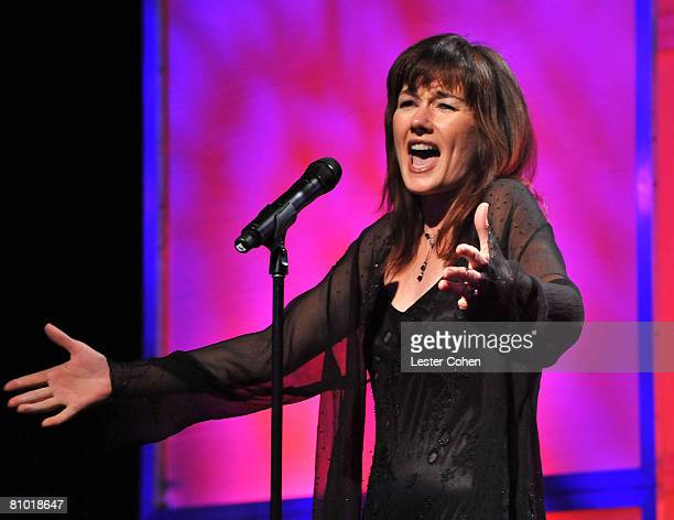 Singer Lari White during the 2008 ASCAP Film and Television Music Awards at the Beverly Hilton on May 6 2008 in Beverly Hills California