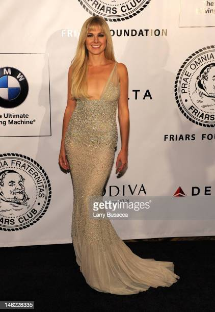 Singer Laura Bell Bundy attends The Friars Club and Friars Foundation Honor of Tom Cruise at The Waldorf=Astoria on June 12 2012 in New York City