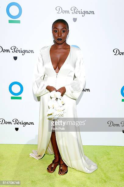 Singer Laura Mvula arrives at the 20th Annual Los Angeles Gala Dinner hosted by Conservation International on March 10 2016 in Culver City California