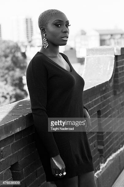 Singer Laura Mvula is photographed for Red Magazine UK on July 15 2013 in London England