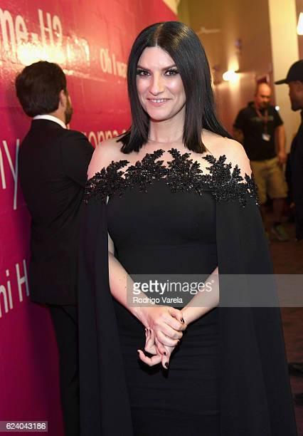 Singer Laura Pausini attends The 17th Annual Latin Grammy Awards at TMobile Arena on November 17 2016 in Las Vegas Nevada