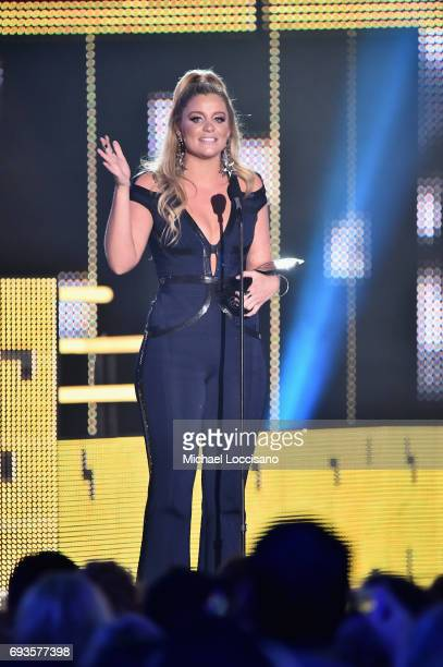 Singer Lauren Alaina accepts Breakthrough Video of the Year award during the 2017 CMT Music awards at the Music City Center on June 7 2017 in...