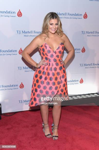 Singer Lauren Alaina attends the 10th Annual TJ Martell Foundation Nashville Honors Gala at Omni Hotel on March 26 2018 in Nashville Tennessee