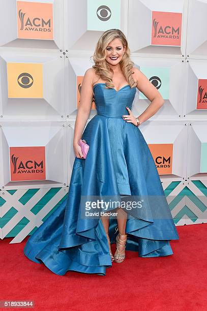 Singer Lauren Alaina attends the 51st Academy of Country Music Awards at MGM Grand Garden Arena on April 3 2016 in Las Vegas Nevada