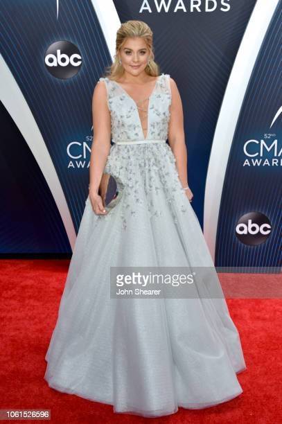 Singer Lauren Alaina attends the 52nd annual CMA Awards at the Bridgestone Arena on November 14 2018 in Nashville Tennessee