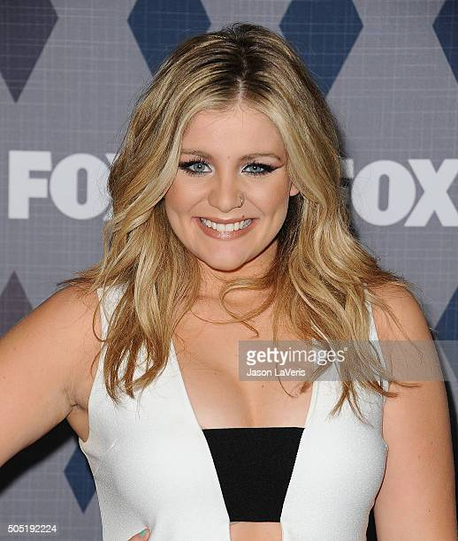 Singer Lauren Alaina attends the FOX winter TCA 2016 AllStar party at The Langham Huntington Hotel and Spa on January 15 2016 in Pasadena California