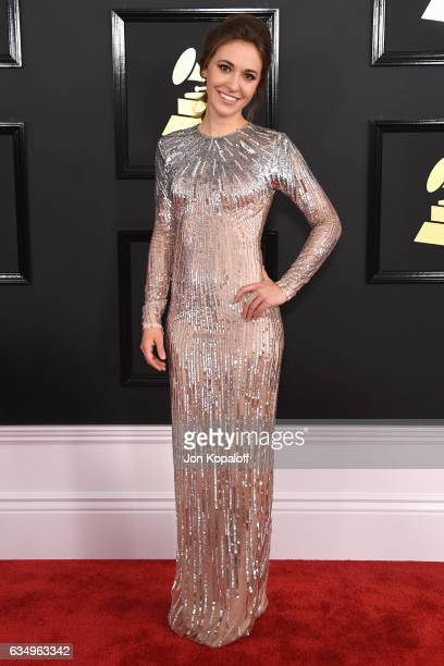 Singer Lauren Daigle attends The 59th GRAMMY Awards at STAPLES Center on February 12 2017 in Los Angeles California
