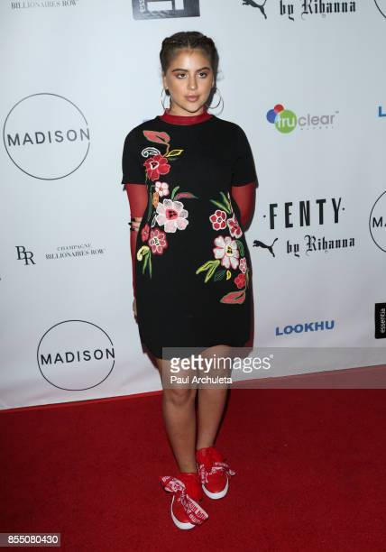 Singer Lauren Giraldo attends the launch of FENTY PUMA By Rihanna A/W 2017 Collection at Madison Beverly Hills on September 27 2017 in Beverly Hills...