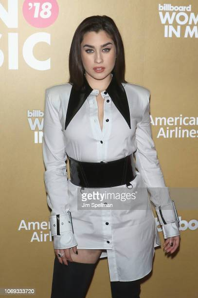 Singer Lauren Jauregui attends the Billboard's 13th Annual Women in Music event at Pier 36 on December 6 2018 in New York City
