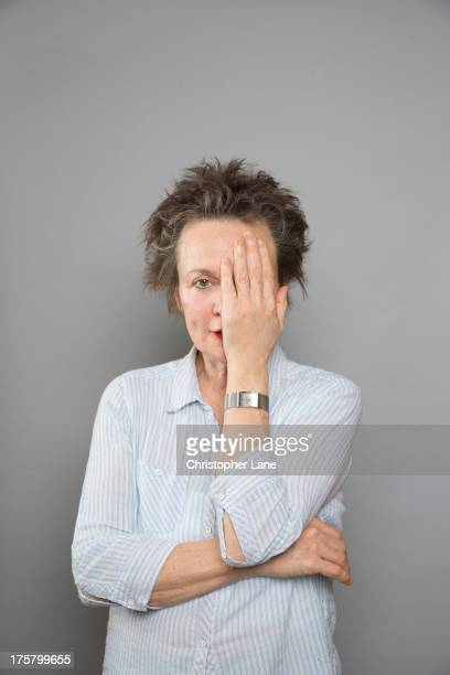 Singer Laurie Anderson is photographed for The London Times on May 22 2013 in New York City