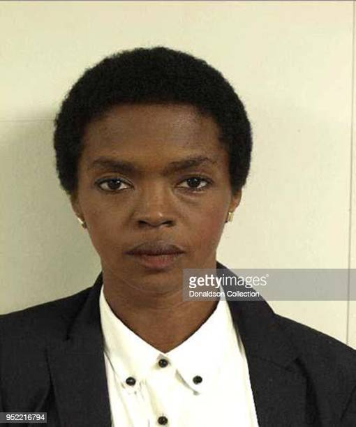 Singer Lauryn Hill posed for the United States Marshals Service mug shot in June 2012 after she was charged with failing to file several years of...