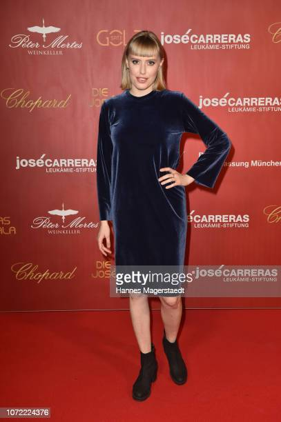 Singer LEA during the 24th Annual Jose Carreras Gala at Bavaria Studios on December 12 2018 in Munich Germany
