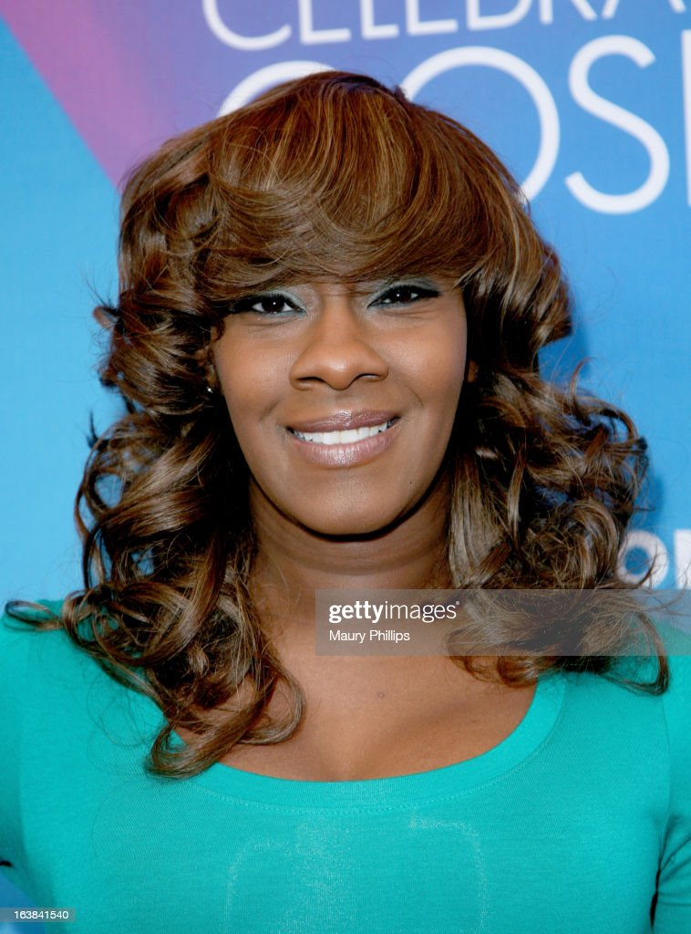 Singer Le'Andria Johnson attends the BET Celebration of Gospel 2013 at Orpheum Theatre on March 16, 2013 in Los Angeles, California.