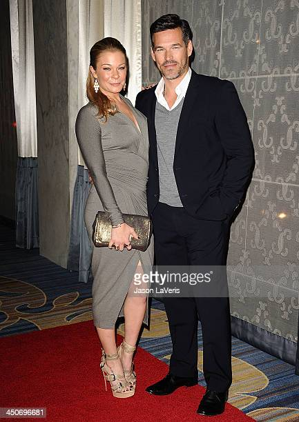 Singer LeAnn Rimes and actor Eddie Cibrian attend the Women's Guild CedarsSinai gala at Regent Beverly Wilshire Hotel on November 19 2013 in Beverly...