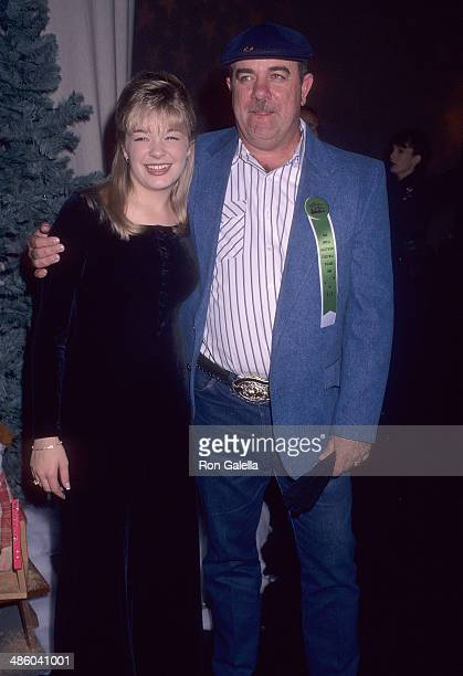 Singer LeAnn Rimes and father Wilbur Rimes attend the 65th Annual Hollywood Christmas Parade on December 1, 1996 at KTLA Studios in Hollywood,...