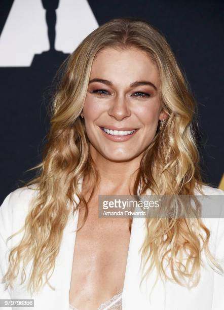 Singer LeAnn Rimes arrives at The Academy Of Motion Picture Arts And Sciences presentation of The Sherman Brothers A Hollywood Songbook at the Samuel...