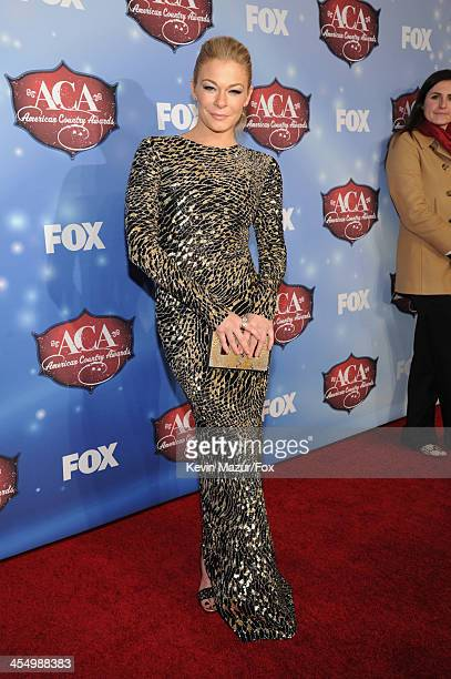 Singer LeAnn Rimes arrives at the American Country Awards 2013 at the Mandalay Bay Events Center on December 10, 2013 in Las Vegas, Nevada.