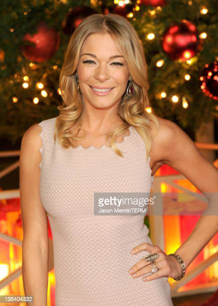 Singer LeAnn Rimes arrives at the American Giving Awards presented by Chase held at the Dorothy Chandler Pavilion on December 9, 2011 in Los Angeles,...