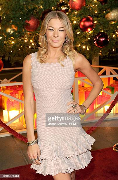 Singer LeAnn Rimes arrives at the American Giving Awards presented by Chase held at the Dorothy Chandler Pavilion on December 9 2011 in Los Angeles...