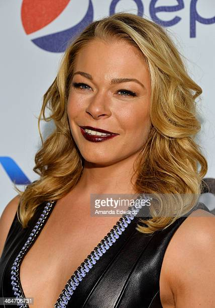 Singer LeAnn Rimes arrives at the Billboard 2nd Annual Power 100 Cocktail Reception at the Emerson Theater on January 23 2014 in Hollywood California