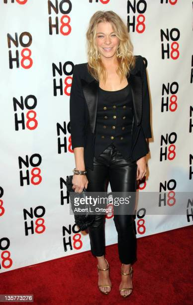Singer LeAnn Rimes arrives for the City Of West Hollywood's Proclaimation of Dec 13th as NOH8 Day Held at The House Of Blues on December 13 2011 in...