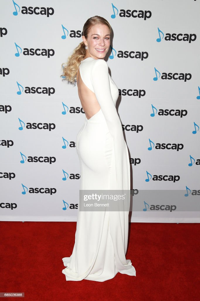 Singer LeAnn Rimes attended the 34th Annual ASCAP Pop Music Awards at The Wiltern on May 18, 2017 in Los Angeles, United States.