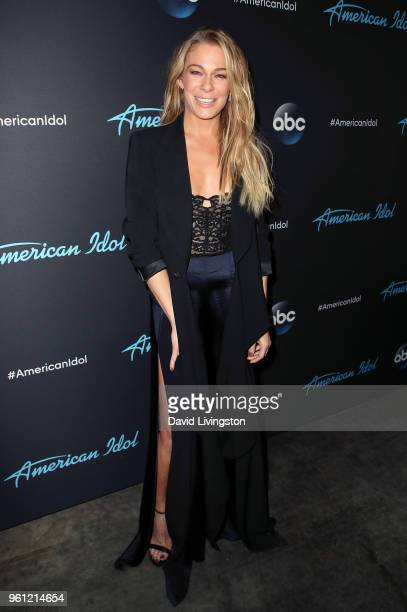 Singer LeAnn Rimes attends ABC's American Idol Finale on May 21 2018 in Los Angeles California
