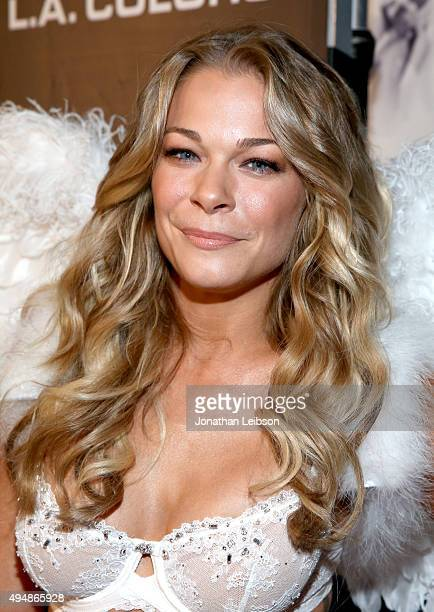 Singer LeAnn Rimes attends Life Style Weekly's 'Eye Candy' Halloween Bash hosted by LeAnn Rimes at Riviera 31 at Sofitel on October 29 2015 in Los...