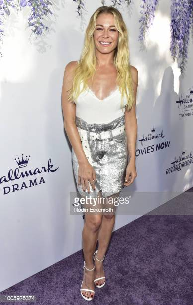 Singer LeAnn Rimes attends the 2018 Hallmark Channel Summer TCA at a private residence on July 26 2018 in Beverly Hills California