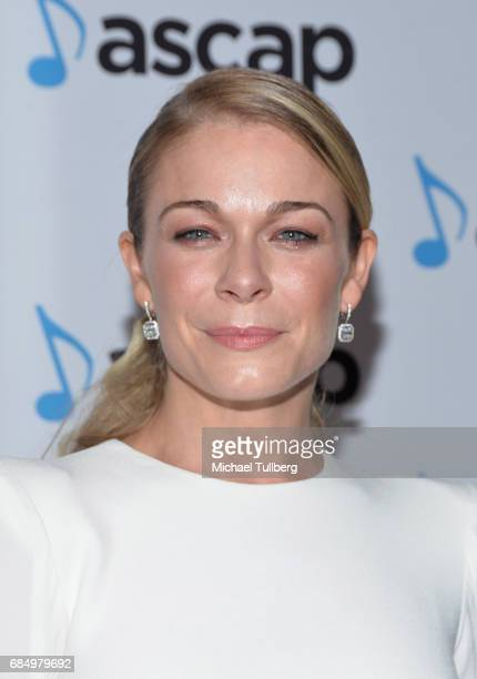Singer LeAnn Rimes attends the 34th Annual ASCAP Pop Music Awards at The Wiltern on May 18 2017 in Los Angeles United States