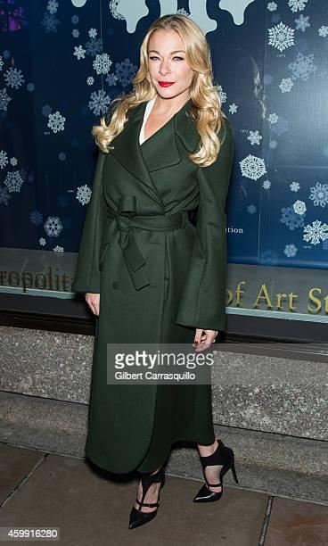 Singer LeAnn Rimes attends the 82nd annual Rockefeller Christmas Tree Lighting Ceremony at Rockefeller Center on December 3 2014 in New York City