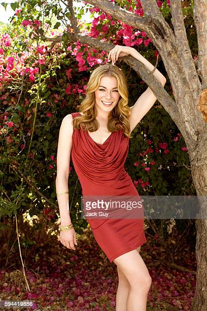 Singer Leann Rimes is photographed for Redbook Magazine in 2007 in Los Angeles, California. PUBLISHED