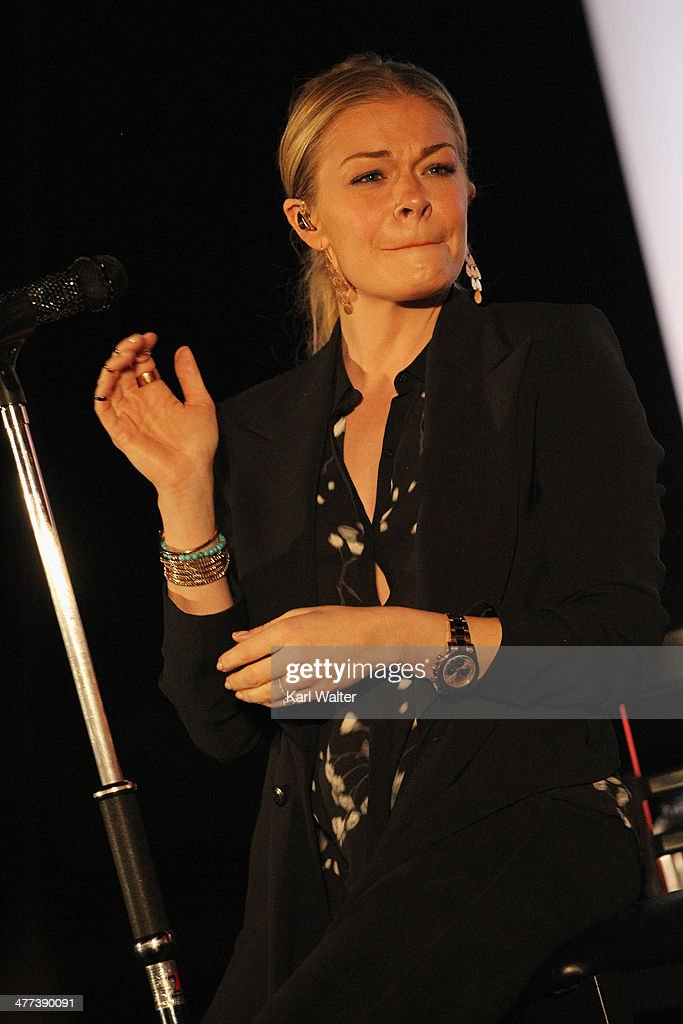 Singer LeAnn Rimes performs during the Arizona Celebrity Golf Classic Gala benefitting the Arians Family Foundation on March 8, 2014 at the Westin Kierland Resort & Spa in Scottsdale, Arizona.