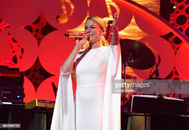 Singer LeAnn Rimes performs onstage at the 2017 ASCAP Pop Awards at The Wiltern on May 18 2017 in Los Angeles California