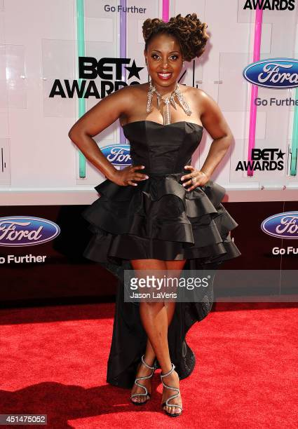 Singer Ledisi attends the 2014 BET Awards at Nokia Plaza LA LIVE on June 29 2014 in Los Angeles California