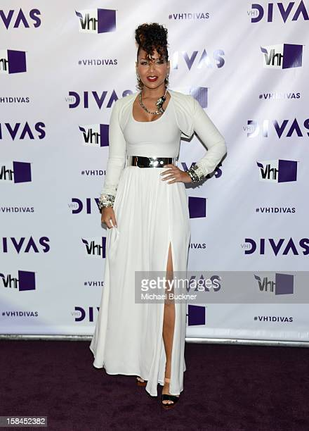 Singer Ledisi attends VH1 Divas 2012 at The Shrine Auditorium on December 16 2012 in Los Angeles California