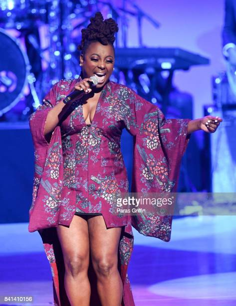 Singer Ledisi performs at the 2017 BMI RB/HipHop Awards at Woodruff Arts Center on August 31 2017 in Atlanta Georgia