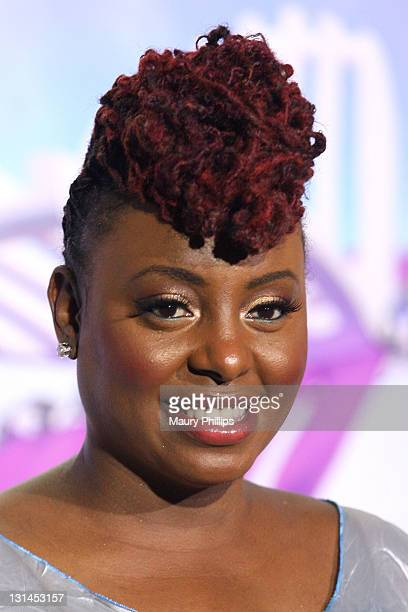 Singer Ledisi poses in the press room at the BET Awards '11 held at The Shrine Auditorium on June 26, 2011 in Los Angeles, California.
