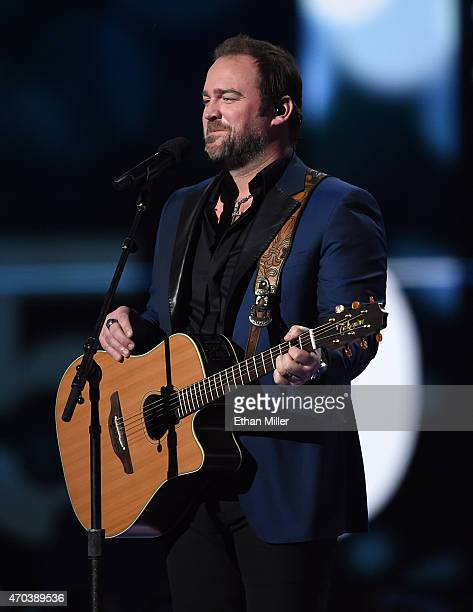 Singer Lee Brice performs onstage during the 50th Academy of Country Music Awards at ATT Stadium on April 19 2015 in Arlington Texas