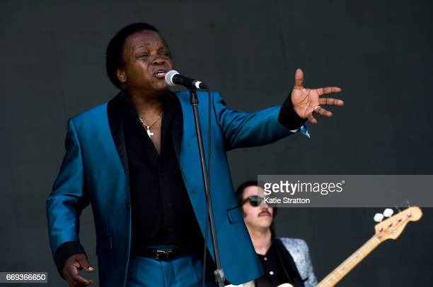 Singer Lee Fields of Lee Fields The Expressions performs on the Coachella Stage during Coachella Valley Music And Arts Festival at Empire Polo Club...
