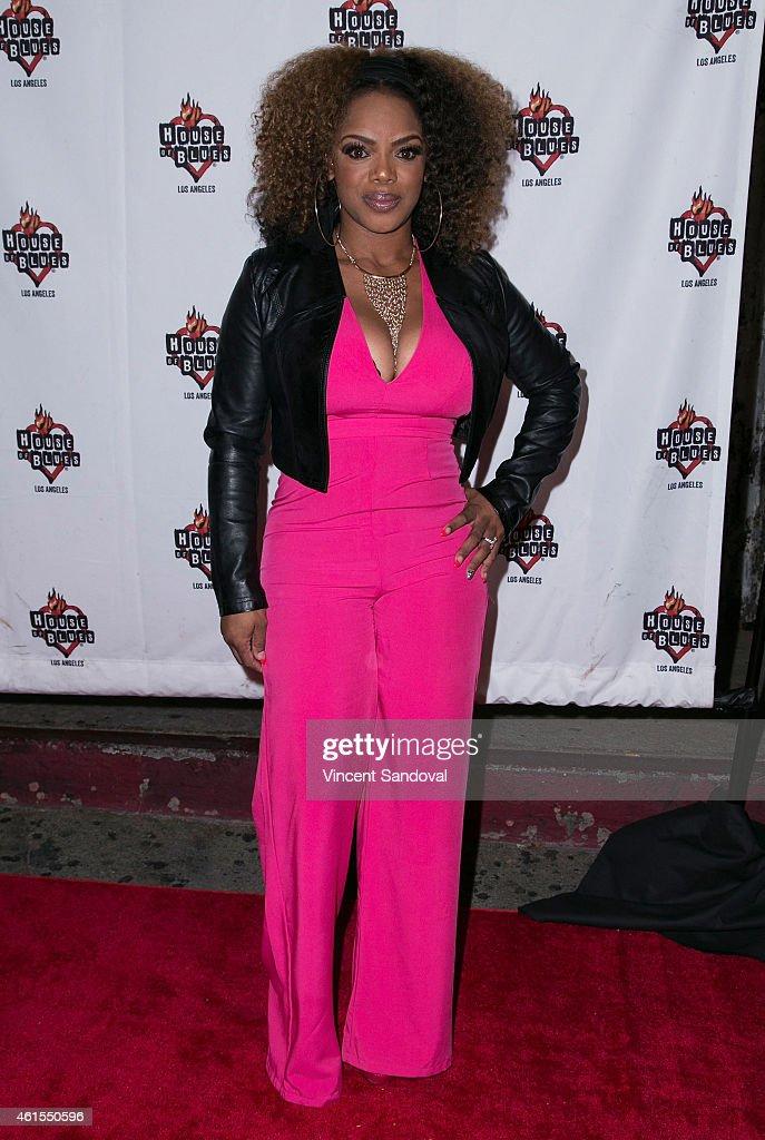 "R&B Divas LA ""Celebration Of Life"" Red Carpet And Performance"
