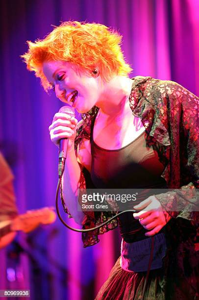 Singer Leigh Nash of Sixpence None the Richer performs at the Tribeca ASCAP Music Lounge held at the Canal Room during the 2008 Tribeca Film Festival...
