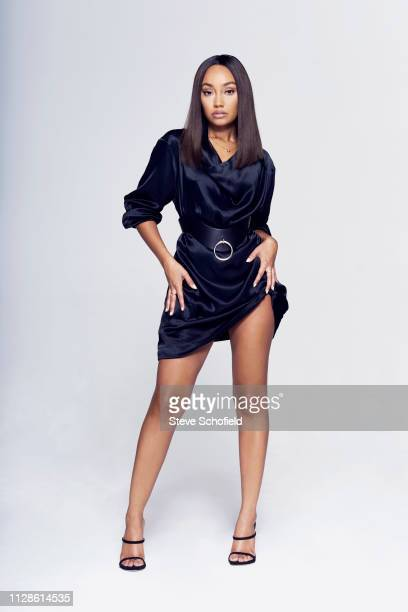 Singer LeighAnne Pinnock of pop band Little Mix are photographed for the Times on October 18 2018 in London England